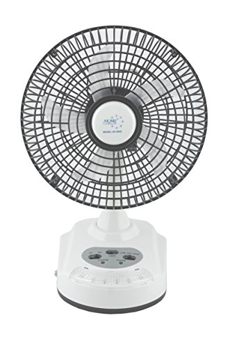 Buy Akari Ak 8008 8 Rechargeable Ac Dc Table Fan With Led Light