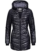 Sublevel Damen Steppjacke Stepp Herbst Winter Übergangs Jacke Mantel
