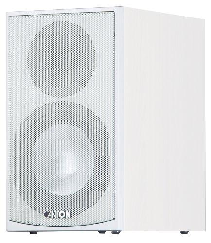 Canton GLE 420 2-Wege Bassreflex-Regallautsprecher (70/130 Watt) weiß (Paar)
