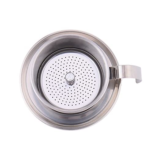 Stainless Steel Coffee Percolator Pour Over Coffee Drip Filter Coffee Maker Pot Single Cup Coffee Dripper
