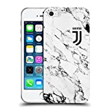 Head Case Designs Offizielle Juventus Football Club Weiss 2017/18 Marmor Soft Gel Hülle für iPhone 5 iPhone 5s iPhone SE