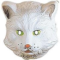 Augenmasken und Verkleidungen f/ür Maskenade Katzen- und Katzenmasken Kost/üm-Zubeh/ör WIDMANN Katzen-Maske aus Kunststoff f/ür Kinder