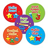 "Sticker Solutions 28 mm""Maths Awards Variety"" Sticker (Pack of 125)"