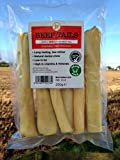 250g 6 Inch Beef Bull Cow Tails Hypoallergenic Dog Treat Chew Low Odour Like Pizzle