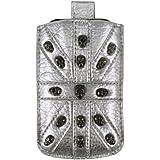 Con función retráctil de calavera tornillos silver