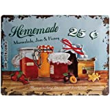Nostalgic-Art 23103 Home & Country - Homemade Marmalade, Blechschild 30x40 cm