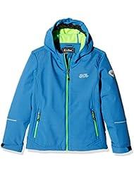 Killtec Soft shell chaqueta con capucha raik, otoño/invierno, infantil, color royalblau melange black, tamaño 164