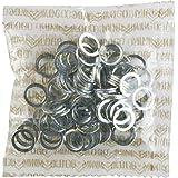 Mini Logo 10/pack Axle Washers Silver Skateboarding Hardware