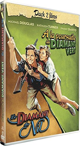 A la poursuite du Diamant Vert + Le diamant du Nil [Pack 2 films]