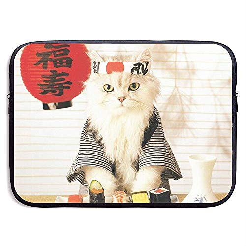 15 Inch Sushi Cat Japanese Cute Funny Kitten Funda