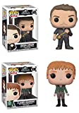 FunkoPOP Jurassic World Fallen Kingdom: Owen + Claire – Vinyl Figure Set NEW