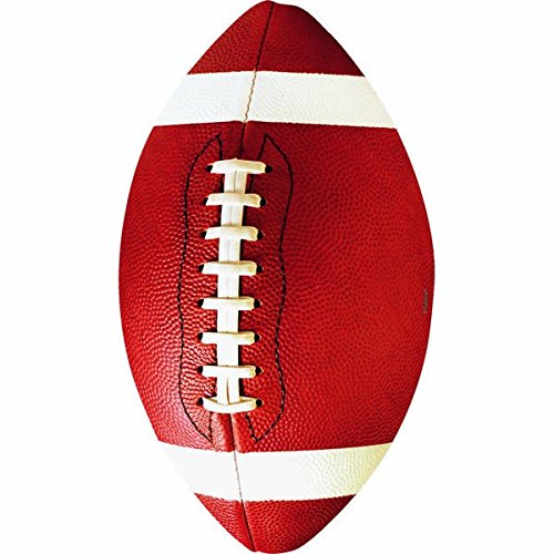 Amscan Football Value Pack Assorted Cutouts, Party Decoration
