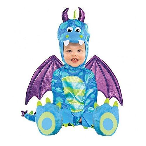 """""""Kleiner Dache"""" Baby Kostüm 12-18 Monate , Gr. 81 (Monate 12-18 Halloween-kostüme)"""