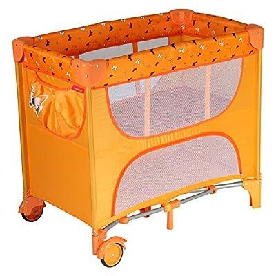 Patron bdp101008aa837p Cuna de viaje de pequeño Maia, mariposa naranja