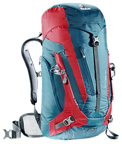 Imagen de deuter act trail  para montaña, unisex adulto, azul arctic / fire , 30 l