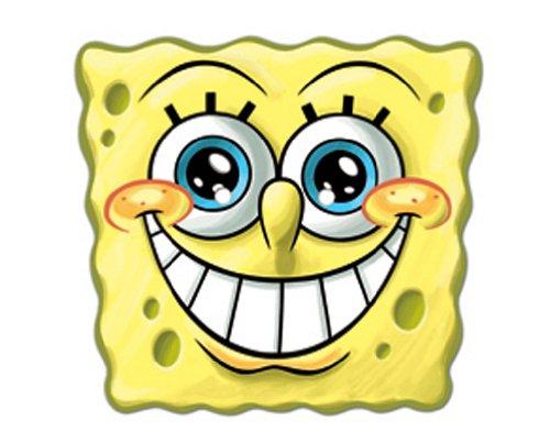 te Gesichtsmaske von Spongebob Schwammkopf (Spongebob Kostüme Für Erwachsene)