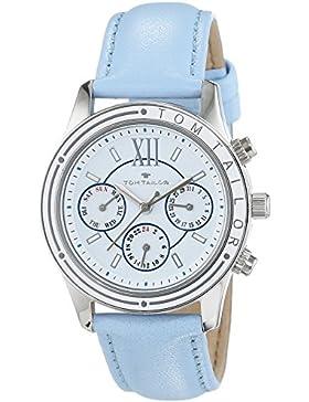 TOM TAILOR Damen-Armbanduhr Analog Quarz Leder 5413702