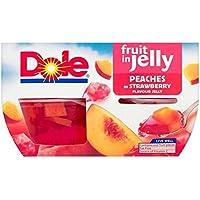 Fruta Dole En Melocotones Jalea 4 X 113G