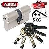 ABUS EC550 Profil-Doppelzylinder Länge 40/40mm mit 6 Schlüssel