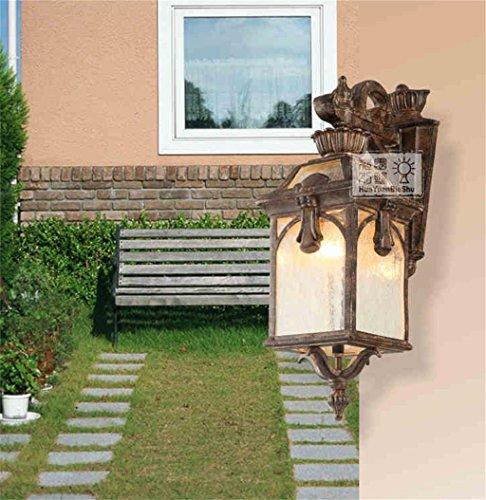 ALUK-Applique murale d'extérieur en aluminium lampes de jardin balcon lumières européennes Rainproof antirouille applique murale