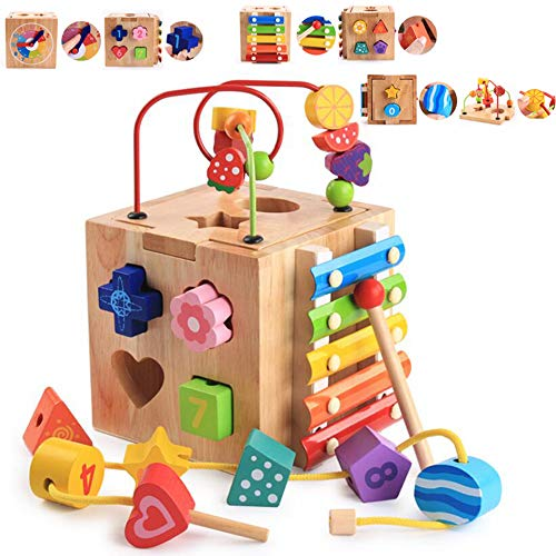 Multi-function Wooden Activity C...