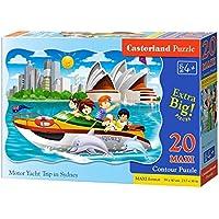 Comparador de precios CASTORLAND Castor País C de 02375–1Motor Yacht Trip en Sydney, Puzzle 20teil máximo - precios baratos