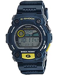 Casio G-7900-2DR - Reloj (Reloj de pulsera, Resina, Azul, Amarillo, Resina, Azul, Mineral)