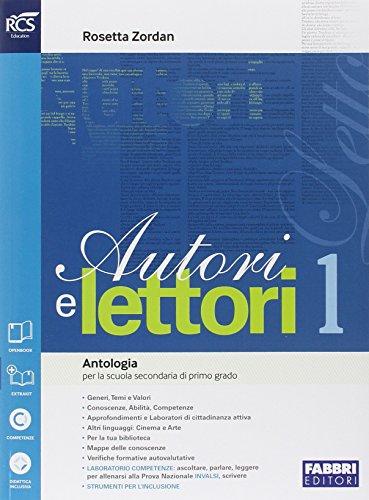 Autori e lettori. Quaderno-Traguardo. Per la Scuola media. Con e-book. Con espansione online: 1
