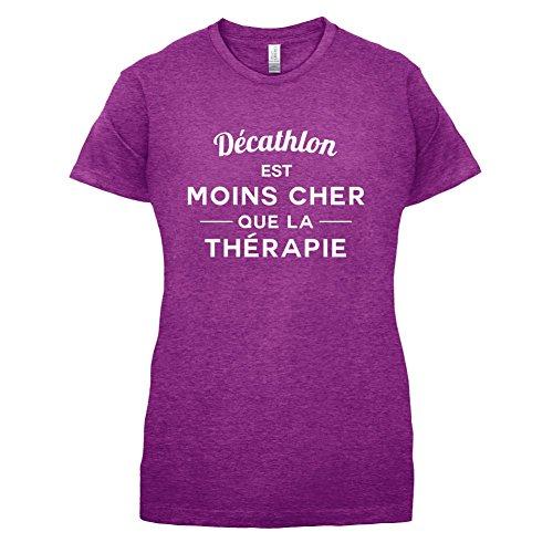 Décathlon est moins cher que la thérapie - Femme T-Shirt - 14 couleur Rose Antique