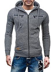 T&C STAR Herren Kapuzenpullover Sweatshirt Kapuze Pullover Sweatshirt Sweatjacke New 1610