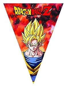 comogiochi guirnalda de banderines triangulares Dragon Ball Z, Multicolor, 5cg82013