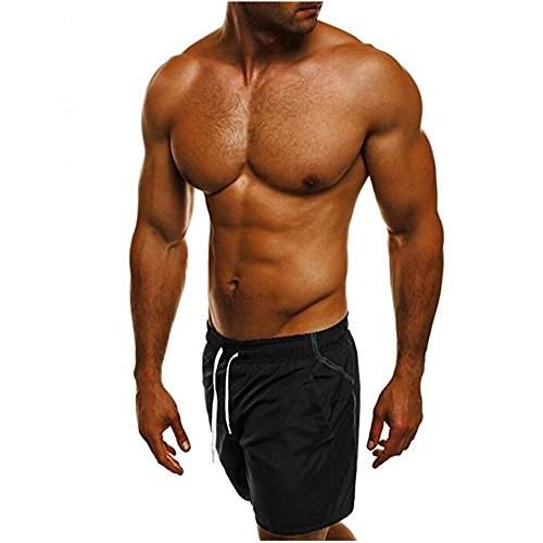 ODRD Männer Jogging Hosen Mode Herren Shorts Badehose Atmungsaktive Strand Surfen Wasserhosen Herren Yoga Pants Yogahosen Laufhose Sweathose Trainingshose Outdoor Sport