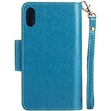 Kickstand Slim - Funda para iPhone (incluye protector de pantalla de cristal templado)