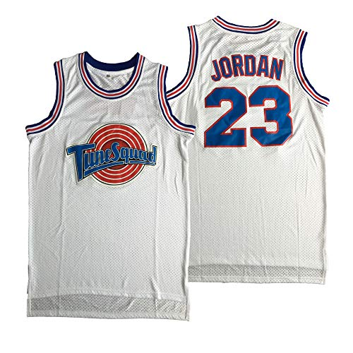 Dexinton Herren Basketball-Trikot Bugs 1 Michael 23 Space Jam - - 3X-Groß