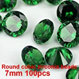 Best GENERIC Jewelry Supplies - Generic 04 champagne : 100pcs 7mm Cubic Zirconia Review