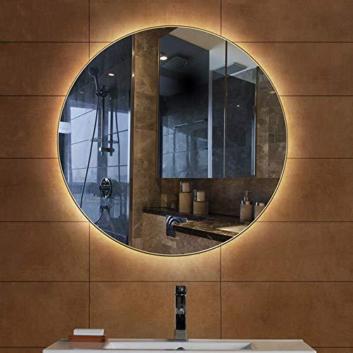 Espejo baño LED Espejo Redondo Grande Espejo retroiluminado