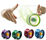Interesting® 1PC Alloy Design Professional Magic YoYo Ball Clutch Bearing String Trick Kids Childen Toy Entertainment Party Christmas Gift(Random Color)