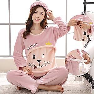 OPPP-Conjuntos-de-Pijama-para-Mujer-Pijamas-de-franela-de-otoo-e-invierno-Traje-para-mujeres-embarazadas-que-se-alimenta-con-lana-polar-de-cachemira-y-invierno-pijamas-cmodos-de-manga-larga-y-cmodos-3