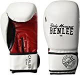 BENLEE Rocky Marciano Carlos Boxhandschuhe, White/Black/Red, 8 oz