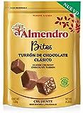 El Almendro Bites De Turrón De Chocolate Crujiente Clásico - 120 Gr