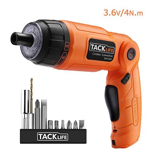 Tacklife-SDH13DC-Cacciavite-elettrico-Senza-Fili-con-Velocit-200RPMmin-batteria-1500mah-Inclusa-con-2-LED-Lampadine