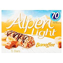 Alpen Light Banoffee 5 Bars, 95g