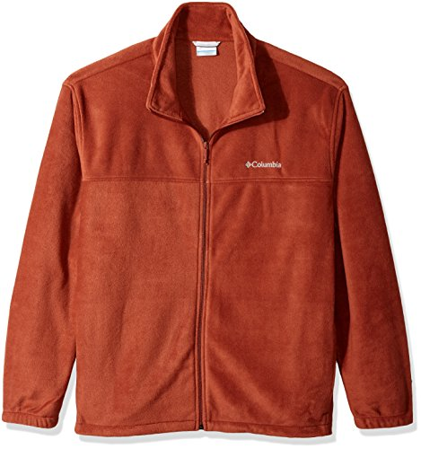 Columbia Men's Big and Tall Cascades Explorer Full Zip Fleece Jacket, Rusty, X-Large Mens Explorer Jacket
