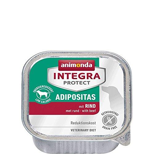 animonda Integra Protect Adipositas mit Rind | Diät Hundefutter | Nassfutter bei Übergewicht (11 x 150 g)