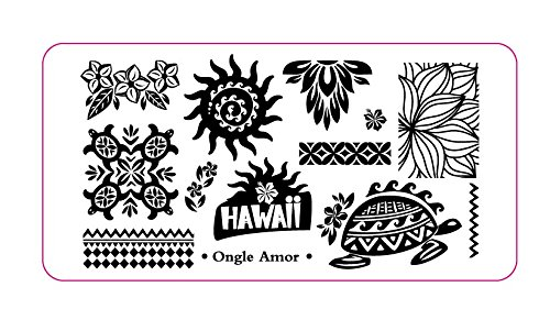 Plaque Stamping HAWAII | ONGLE AMOR