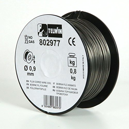 Telwin 802977Spule Fülldraht-Schweißen, 0.9mm, 0.8Kg