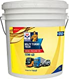 #10: HP Lubricants Milcy Turbotech 15W-40 API CI4+ Engine Oil for Cars (7.5 L)