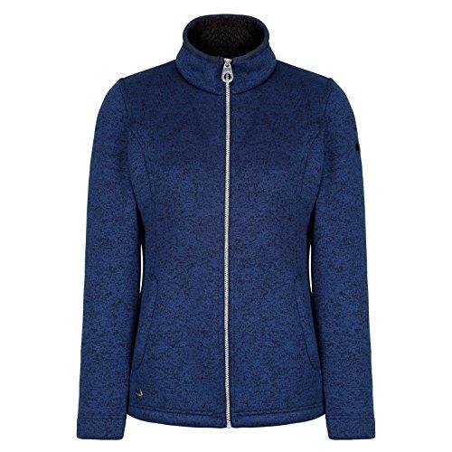 Regatta Damen Raizel Fleece Full Zip XX-Small Marineblau/Schwarz Xx Bonded Fleece