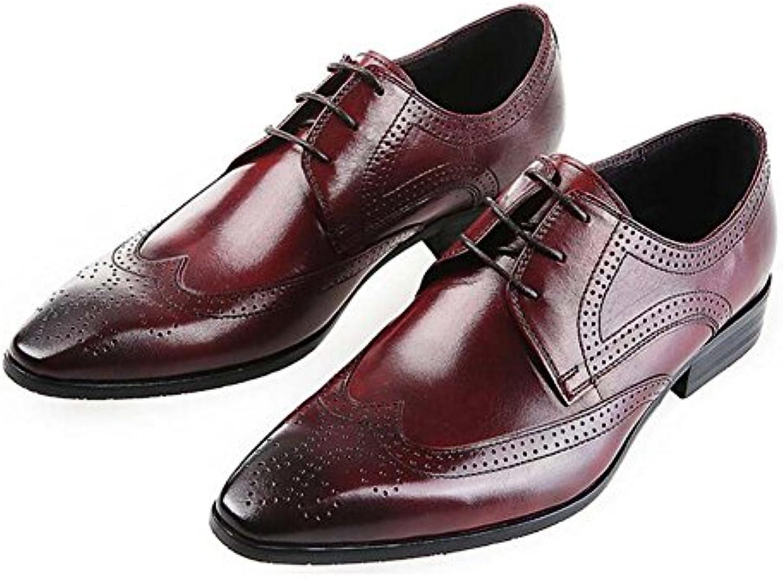 GLSHI Arbeitsschuhe der Männer Spitze Breathable Schnuumlrschuhe Fashion Bekleidung Schuhe Neu