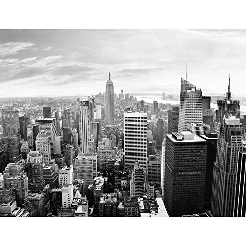 Fototapeten New York City 352 x 250 cm - Vlies Wand Tapete Wohnzimmer Schlafzimmer Büro Flur Dekoration Wandbilder XXL Moderne Wanddeko - 100% MADE IN GERMANY - 9246011c
